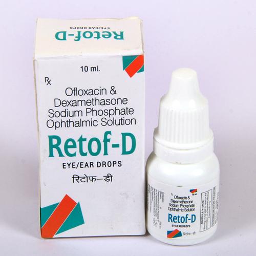 RETOF-D 10ML eye/ear drop