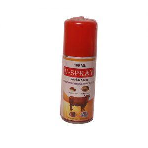 v spray