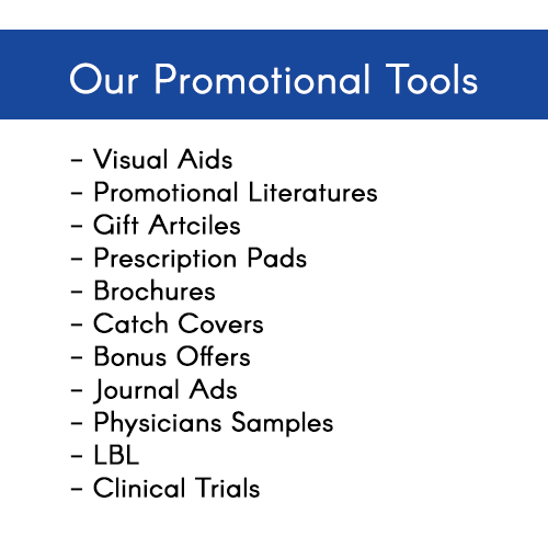 Pharmaceutical Promotion Tools