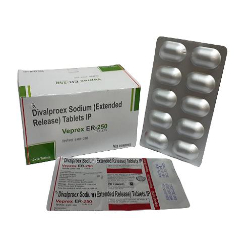VEPREX-ER 250 Tablets